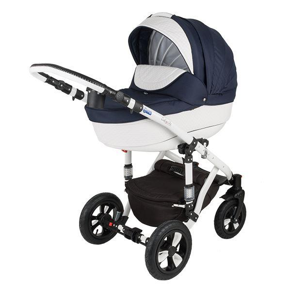 Wózek dziecięcy 2w1 ADAMEX GALACTIC EKO-SKÓRA 710S