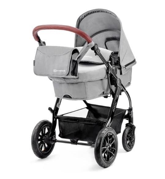 Wózek dziecięcy 2w1 KINDERKRAFT MOOV 2W1 SZARY GŁĘBOKO - SPACEROWY
